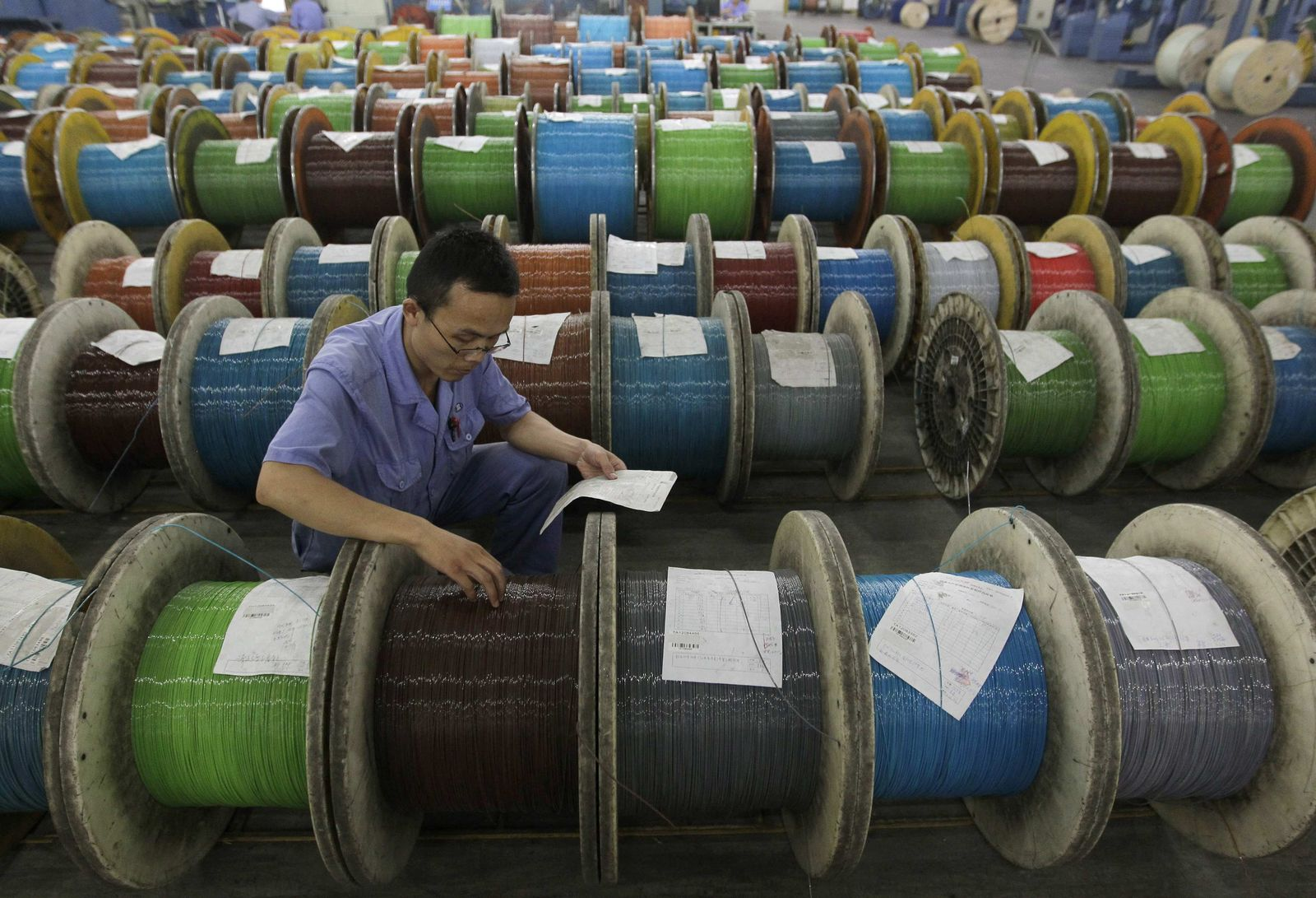 CHINA-ECONOMY/INDUSTRY wirtschaft industrie