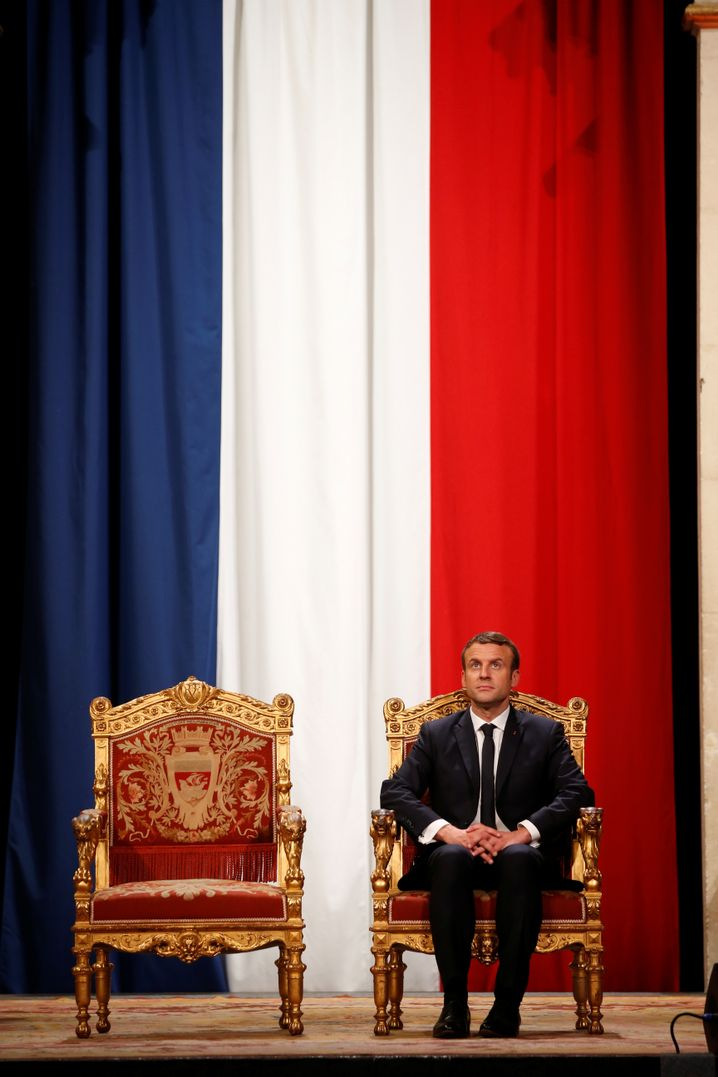 Französischer Präsident Macron