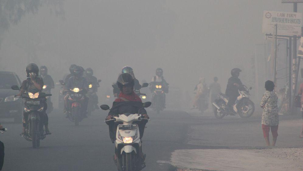 Indonesien: Waldbrände hüllen das Land in Rauch