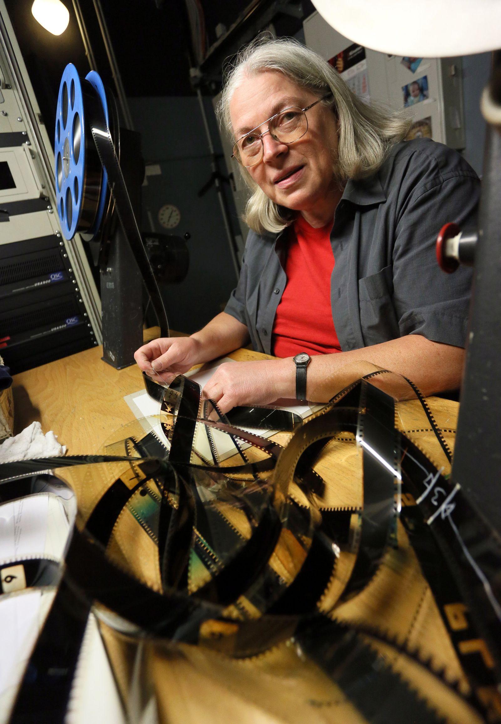KaSP Filmvorführerin Ursula Seifried