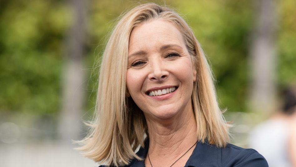 Das »Friends«-Vorshooting ist bereits absolviert: Lisa Kudrow