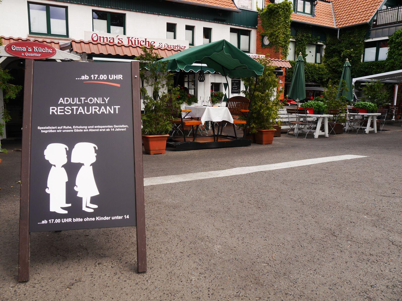 EINMALIGE VERWENDUNG Rügen / Adult Only Restaurant