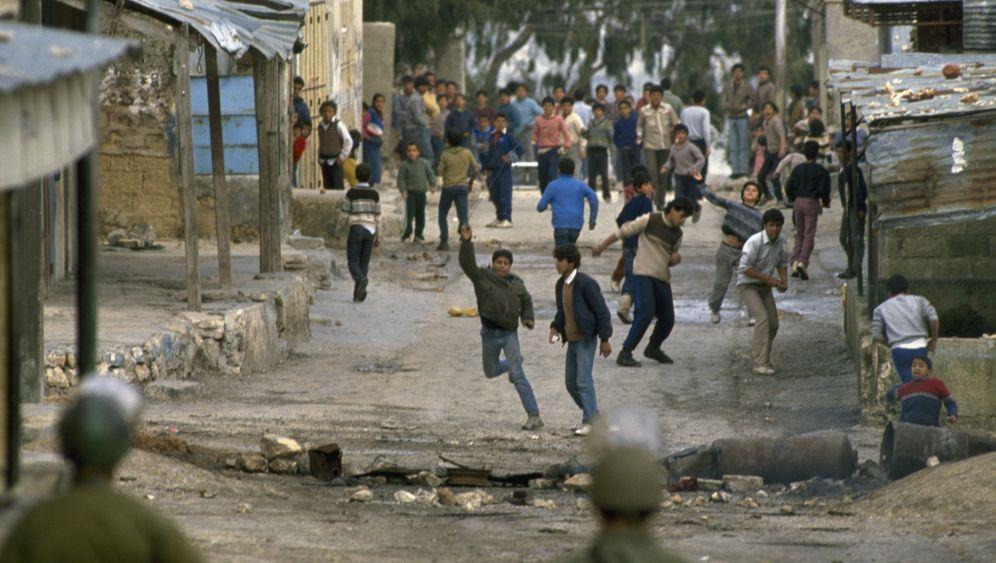 """Erste Intifada 1987: """"So viel Hass"""""""