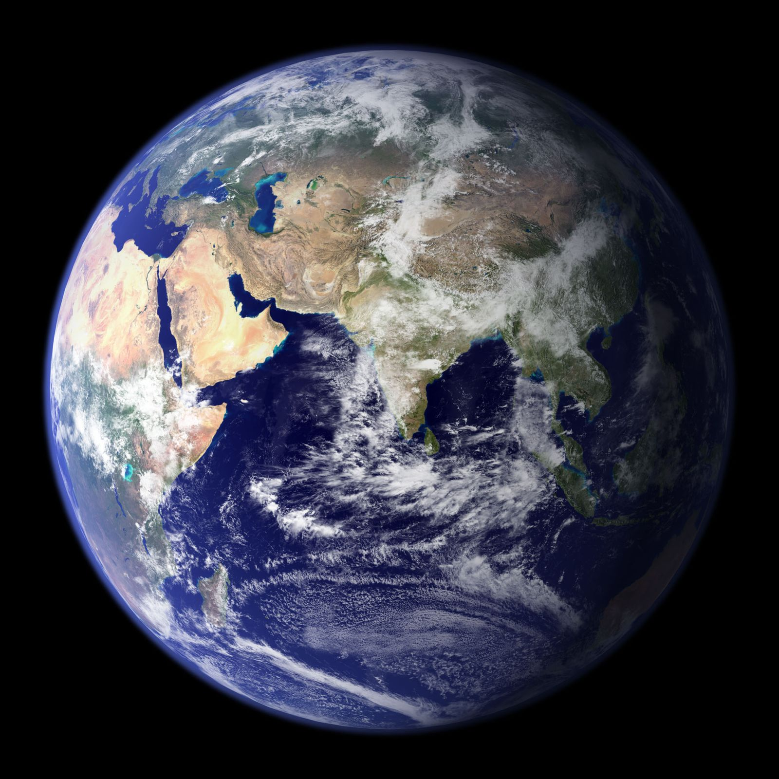 US-SPACE-BLUE MARBLE