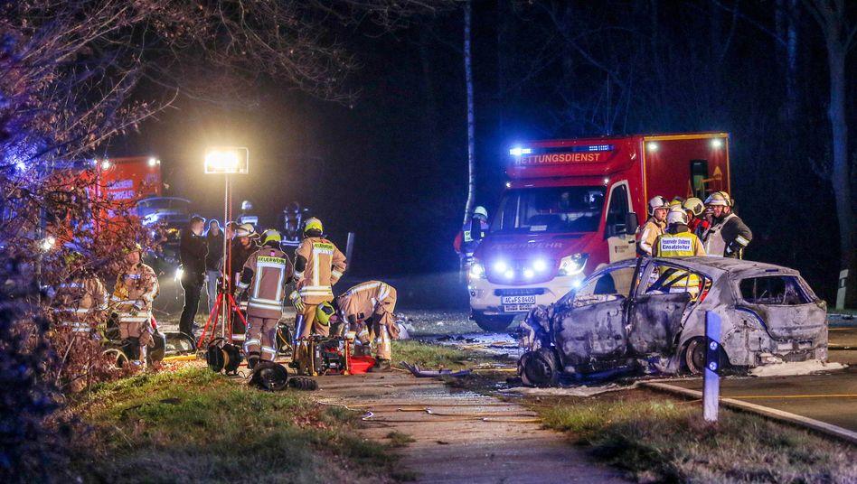 Tödlicher Unfall bei Aachen (Archivbild)