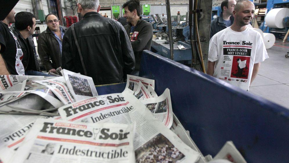"""""""France-Soir"""": Ende einer Traditionszeitung"""
