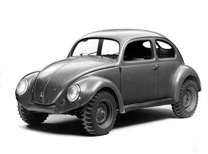 Kommandeurswagen aus dem Jahr 1946: Der militärische Käfer wurde von den Engländern in neun Exemplaren gefertigt