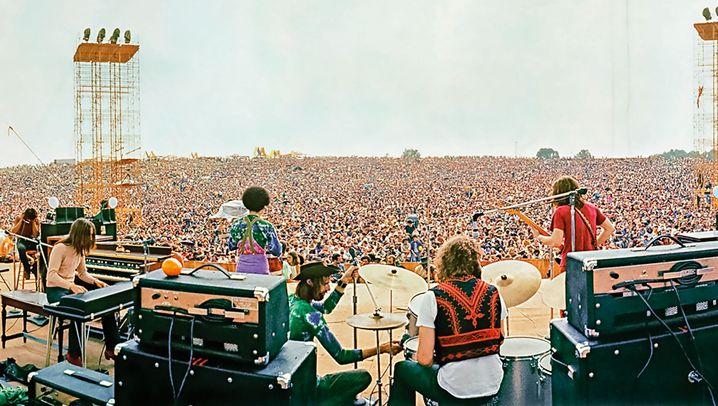 50 Jahre Woodstock: Die Mutter aller Fangopackungen