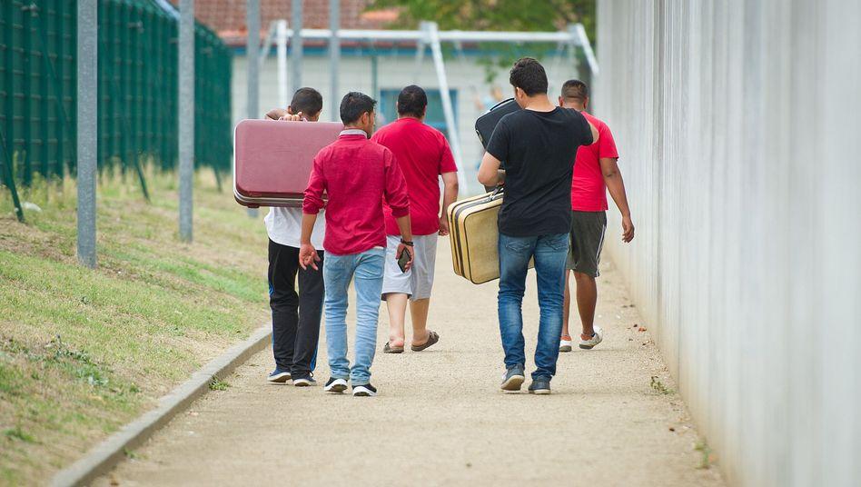 Erstaufnahmeeinrichtung für Flüchtlinge (in Ingelheim)