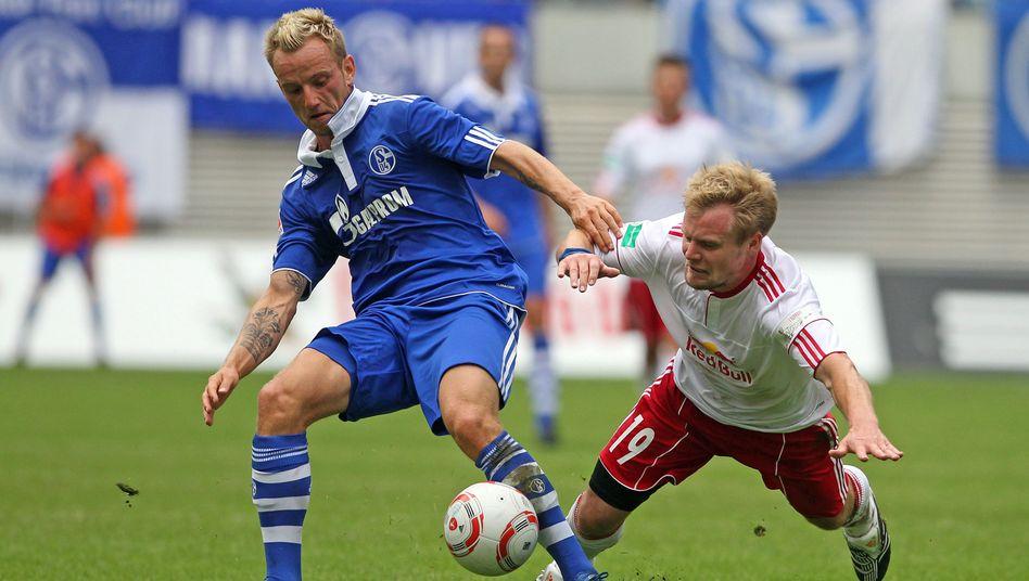 Leipzig-Profi Geißler (r., Archivfoto): Vor dem Aufstieg in Liga drei