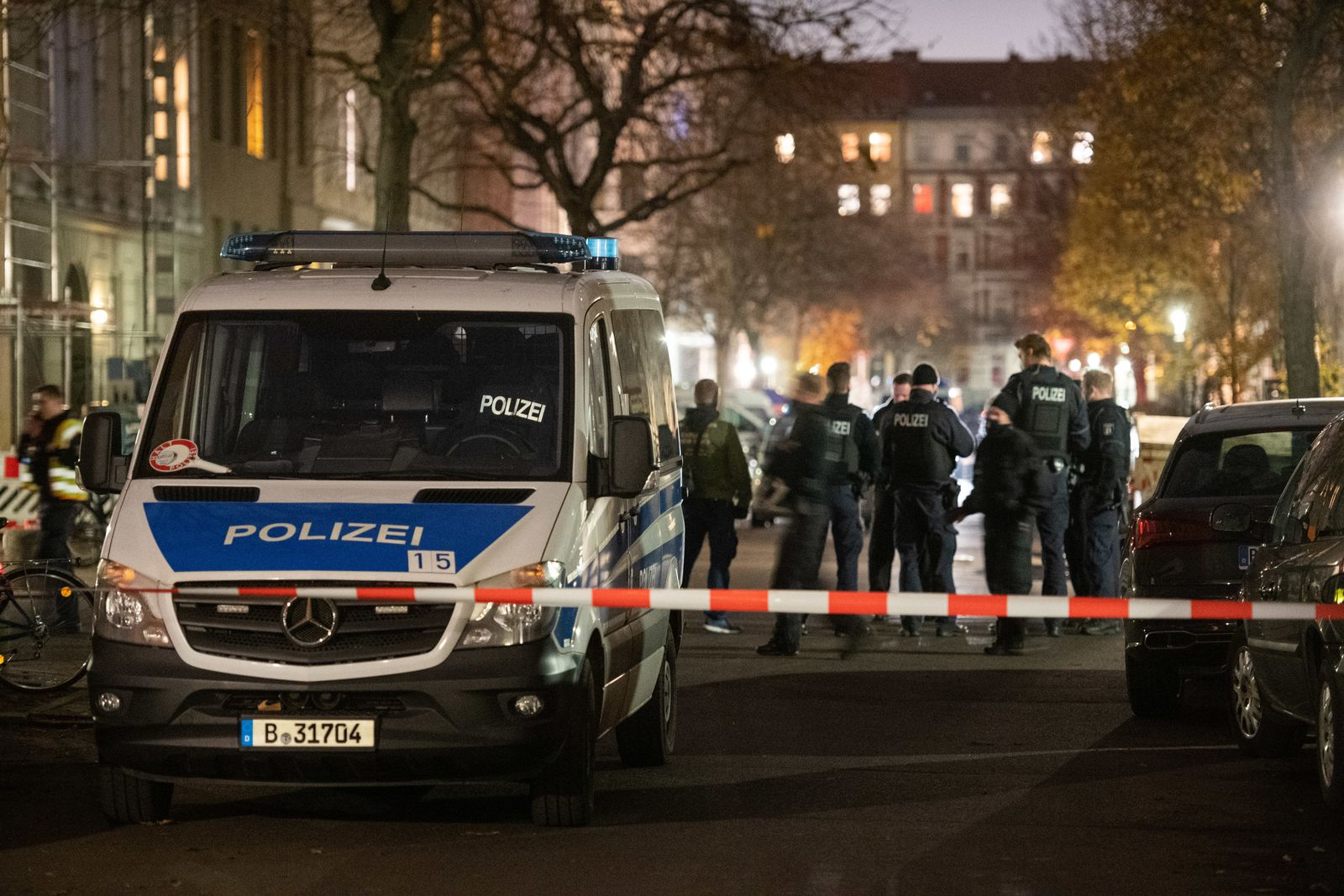 Schüsse in Berlin Kreuzberg