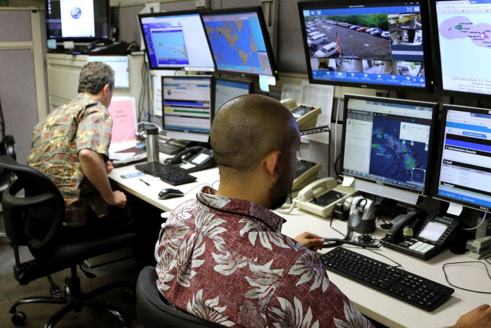 Hawaii Mistaken Missile Alert