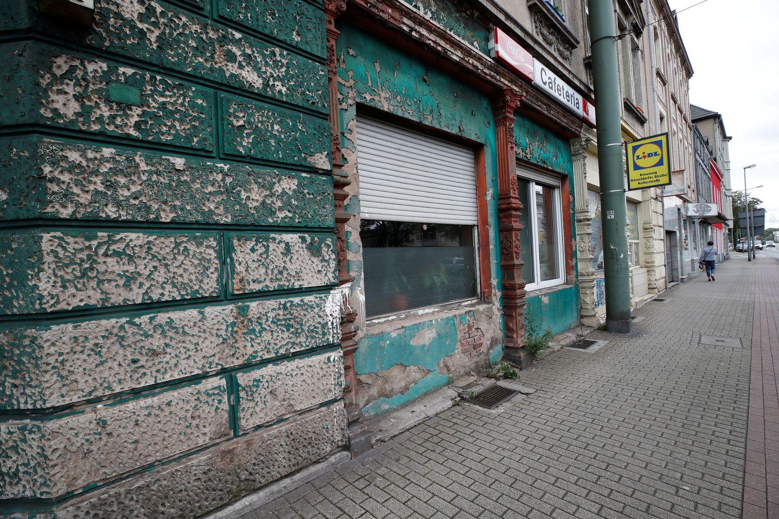 Armut / Verfallen / Marode / Duisburg / Deutschland