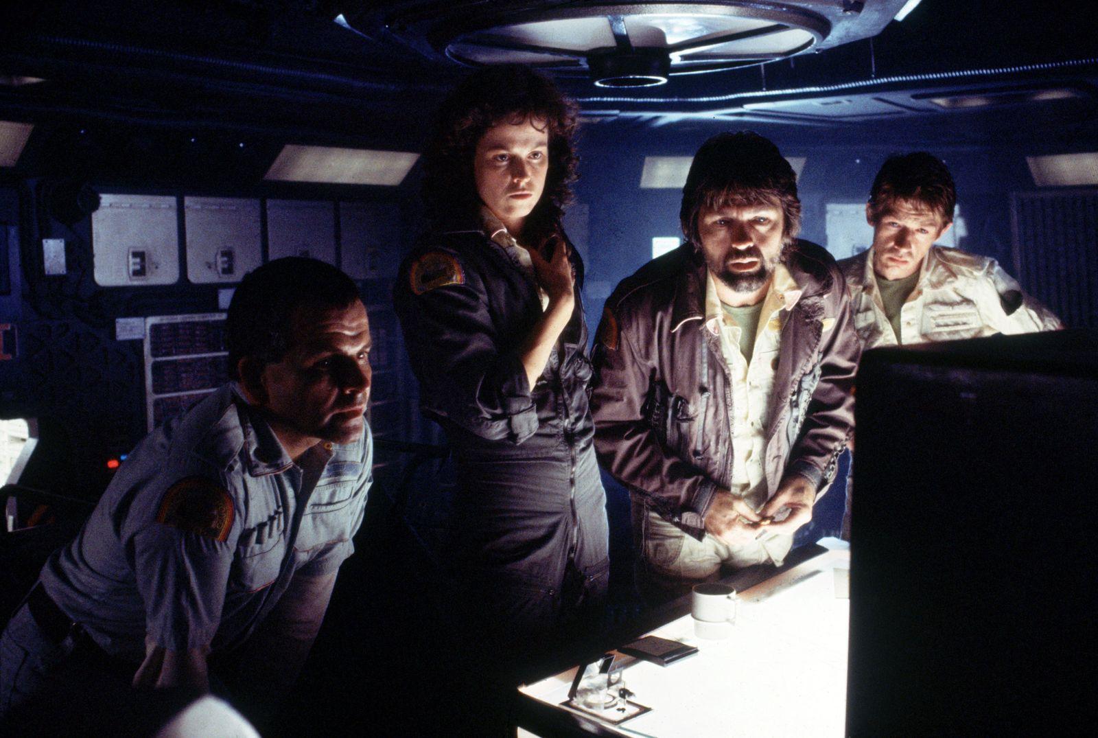 """Alien: The Director's Cut"" Ian Holm, Sigourney Weaver, Tom Skerritt, John Hurt © 1979, 2003 20th Century Fox Photo by Robert Penn"