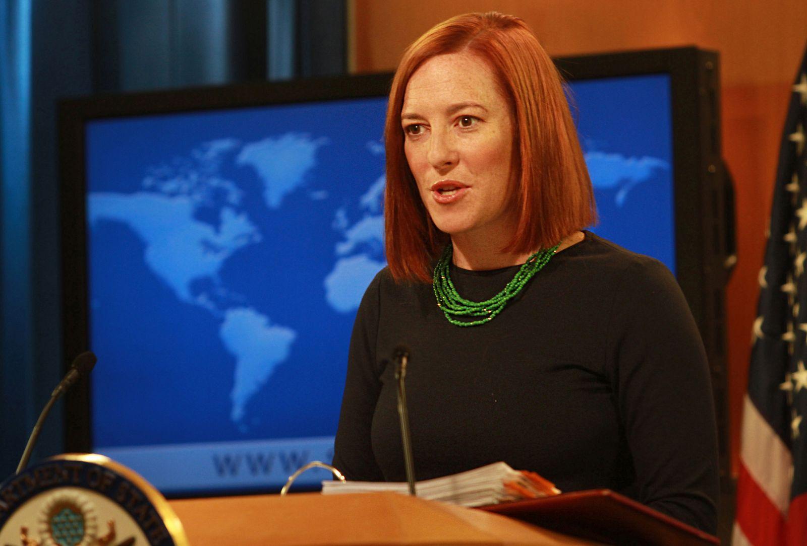 US State Department spokesperson Jennifer Psaki