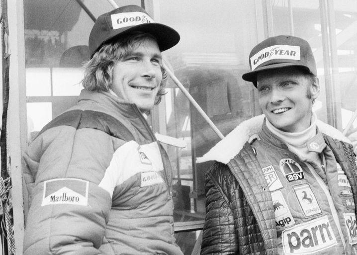 James Hunt versus Niki Lauda