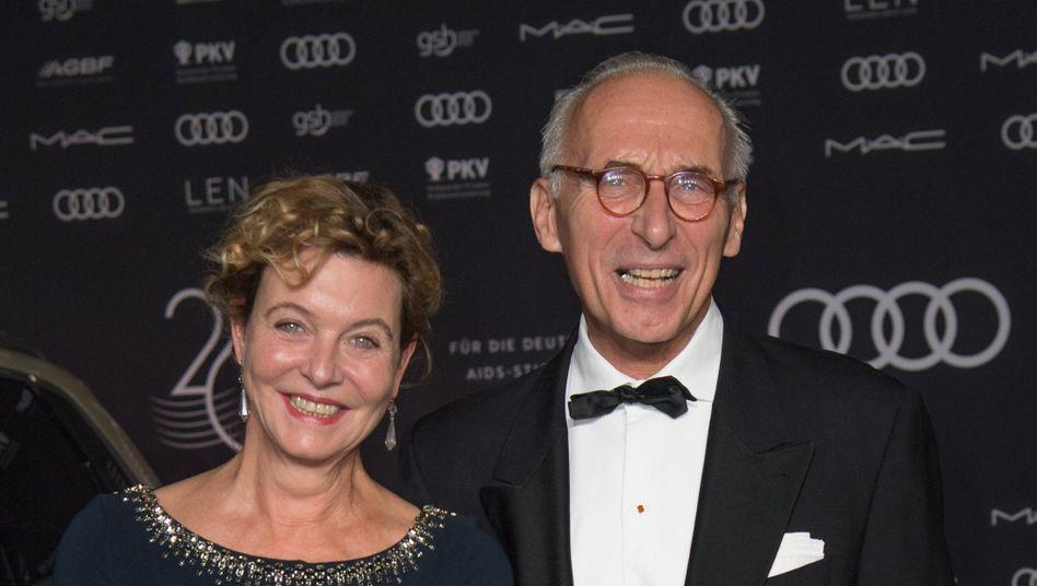 Seit September ein Ehepaar: Margarita Broich und Dirk Schmalenbach