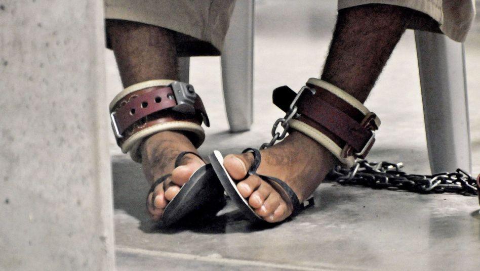 Guantanamo-Häftling: Noch 173 Insassen im Camp.