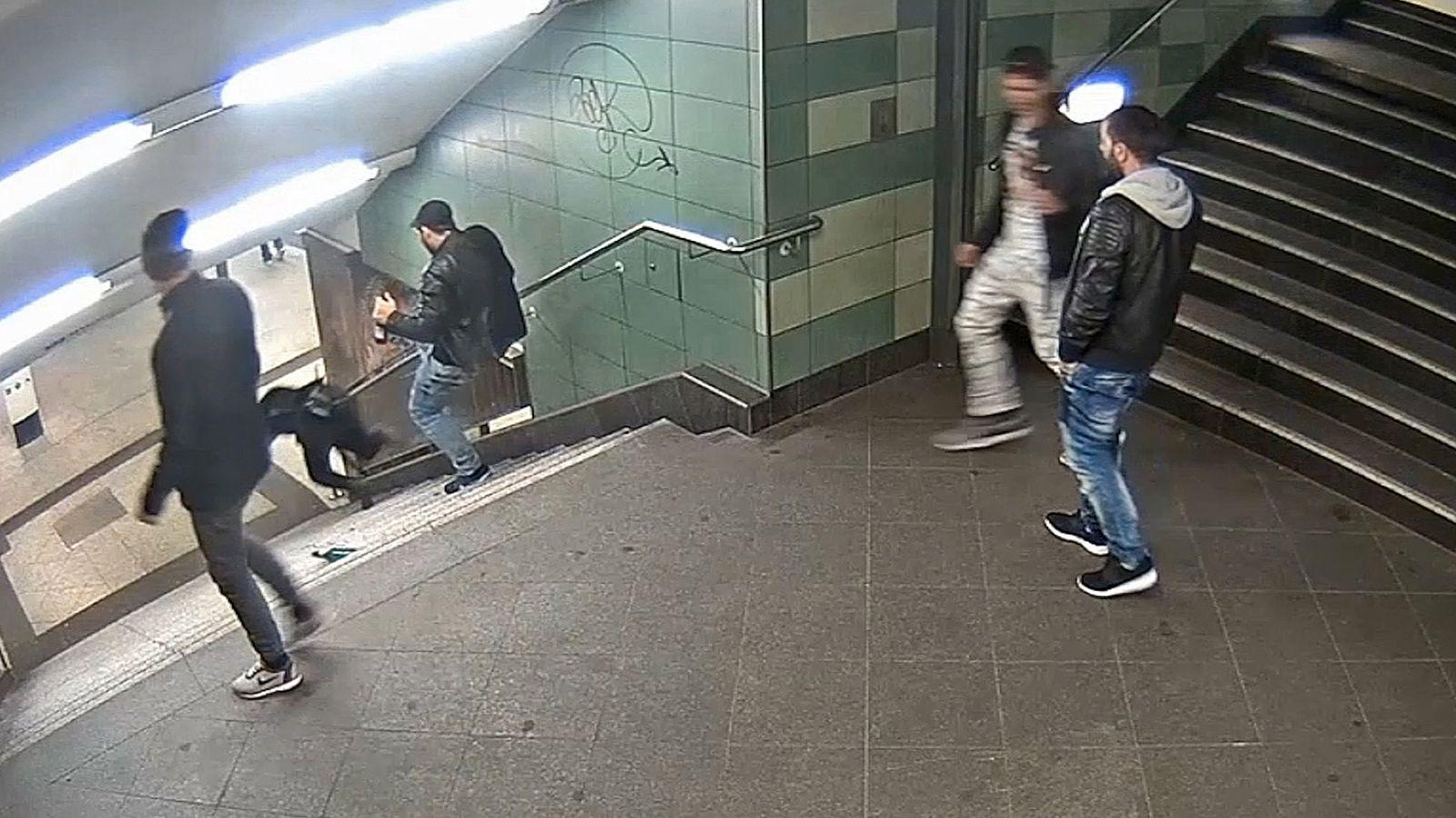 Fahndungsvideo berlin U-Bahn