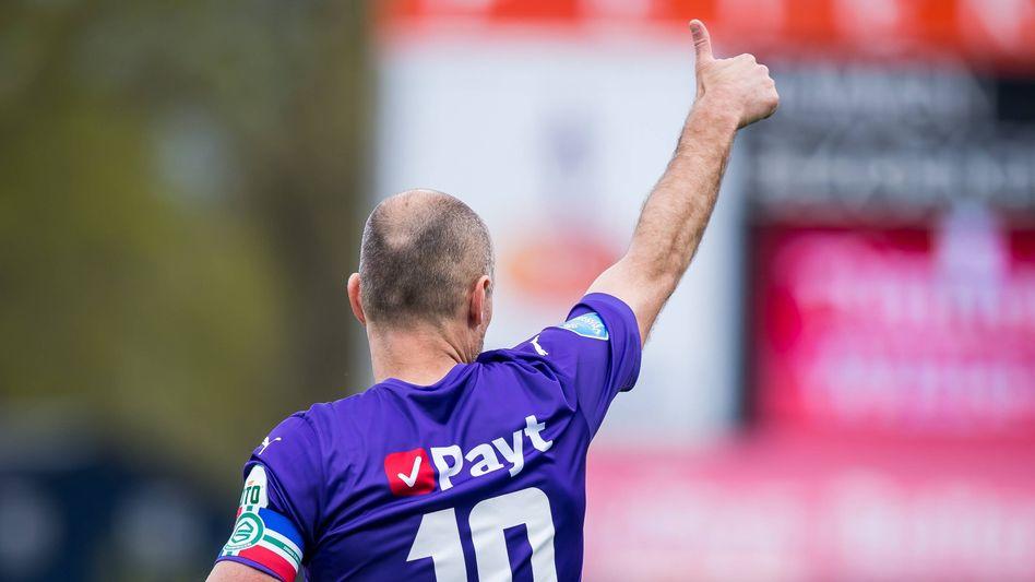 Arjen Robben bei seinem Startelf-Comeback für den FC Groningen