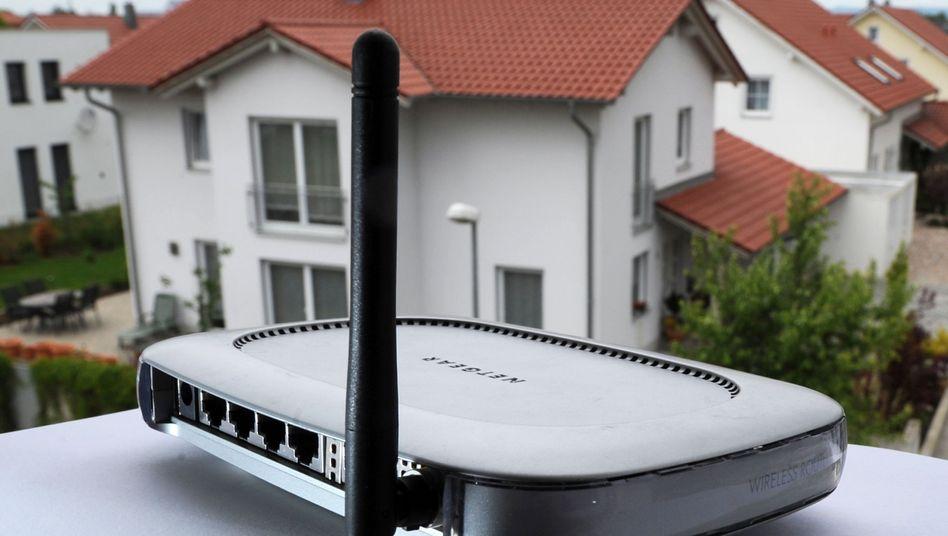 W-Lan-Router: Binnen vier bis zehn Stunden soll Angriffssoftware die Funkverteiler knacken