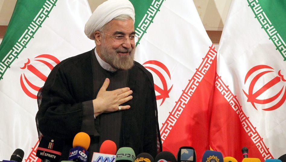 "Neuer iranischer Präsident Rohani (am 17. Juni): ""Radikalen Kurs vermeiden"""