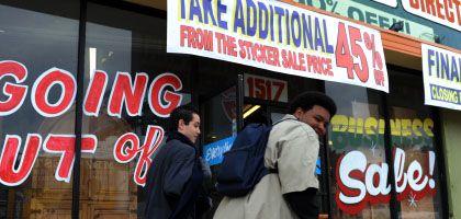 Schlussverkauf in Los Angeles: Lichtblick für die US-Wirtschaft
