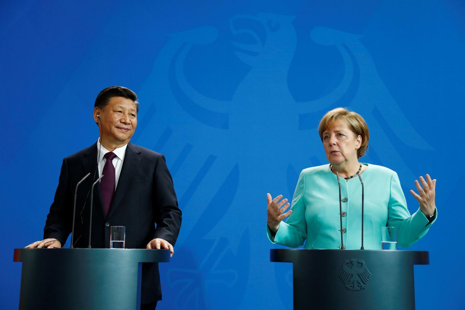 Merkel / Xi