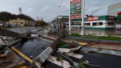 """Hurrikan """"Maria"""": """"Puerto Rico wird eine zerstörte Insel sein"""""""