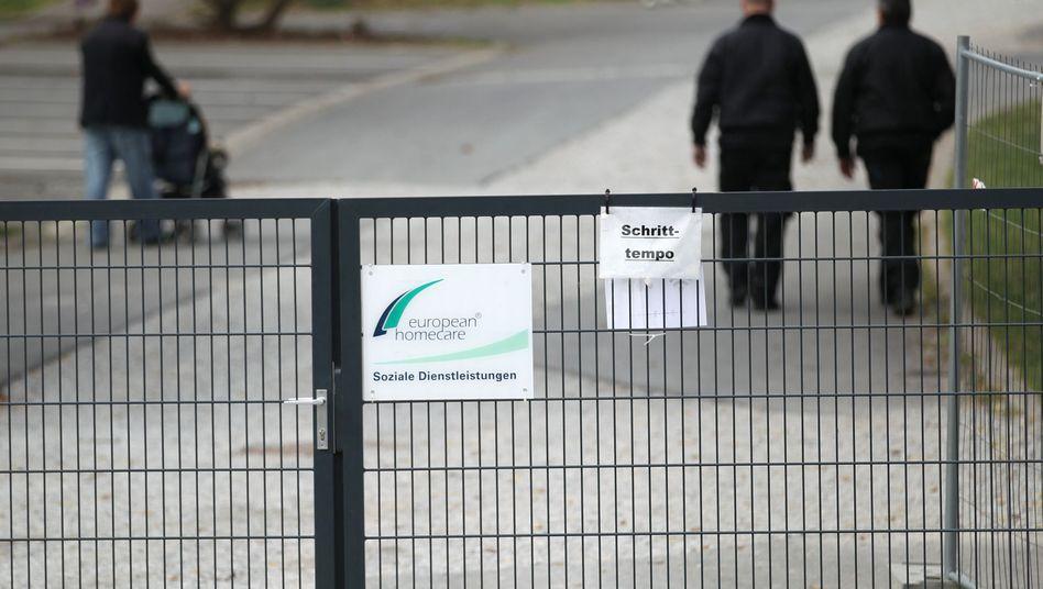 Tatort der Misshandlungen: Flüchtlingsheim in Burbach (Archiv)