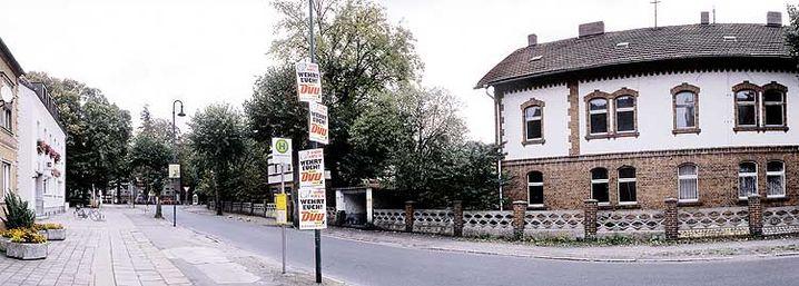 DVU-Wahlwerbung in Neupetershain