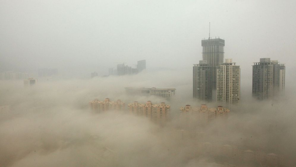 China: Smog-Chaos in Harbin