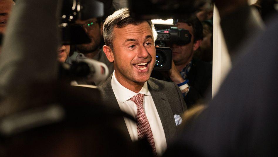 FPÖ-Kandidat Norbert Hofer