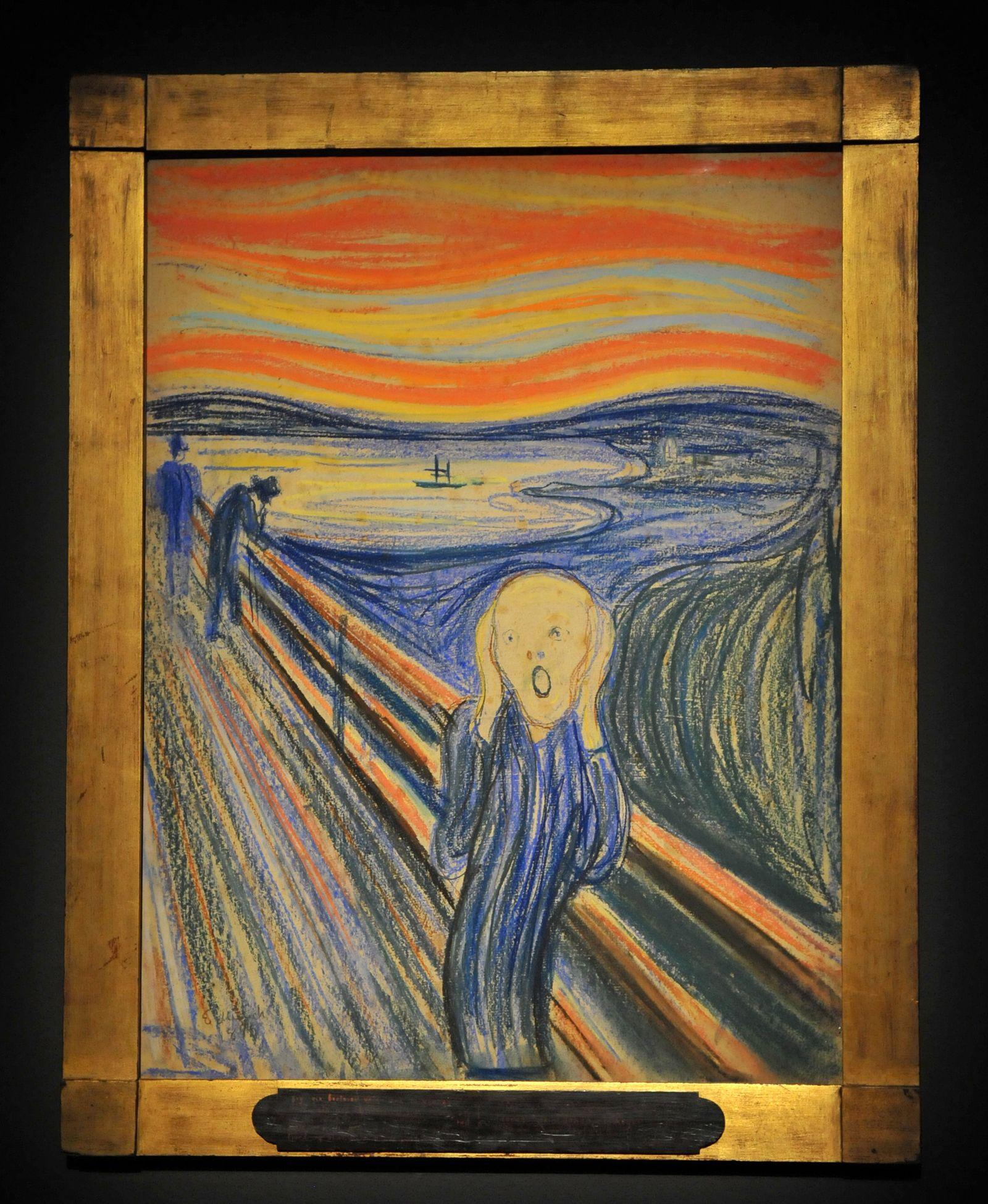 Gemälde/ Munch - Der Schrei
