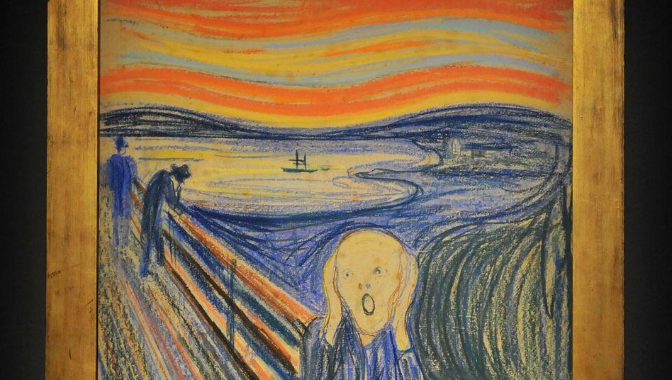 «Der Schrei» von Edvard Munch