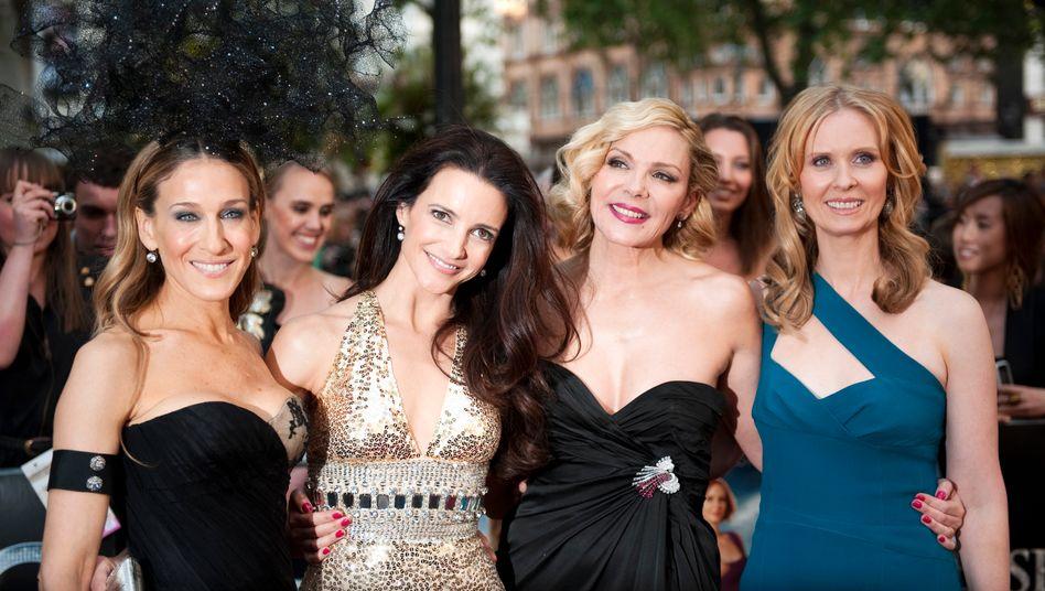 Sarah Jessica Parker, Kristin Davis, Kim Catrall und Cynthia Nixon (Mai 2010)