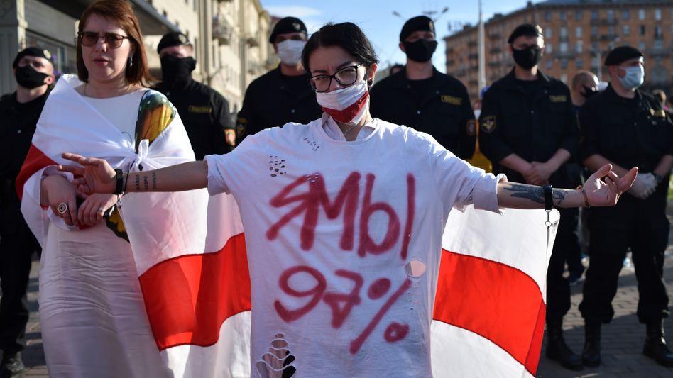 Proteste in Minsk: Die Zeiten der alten Wahlergebnisse sind vorbei