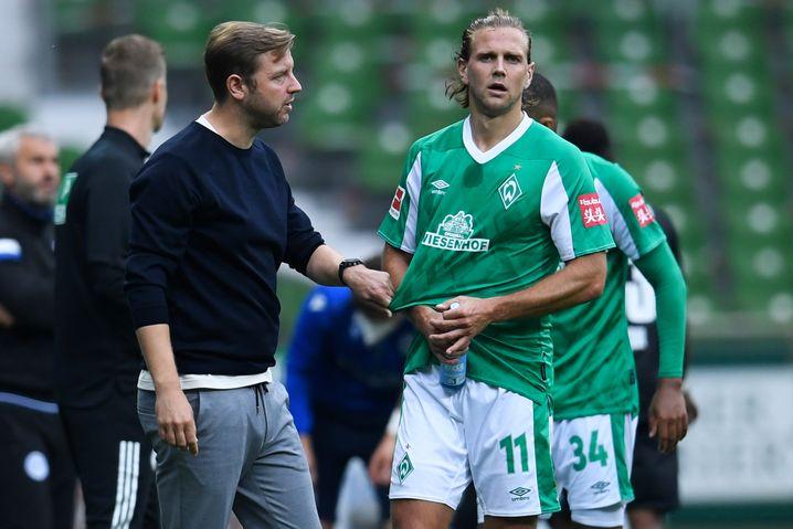 Florian Kohfeldt und Stürmer Niclas Füllkrug: Offensive Harmlosigkeit