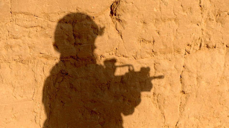 Deutscher Soldat im Einsatz nahe Kunduz (Archivbild von 2011)