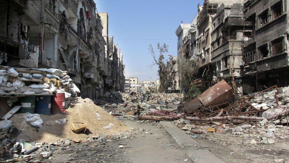Flüchtlingslager Jarmuk: Zwei Quadratkilometer Trümmerlandschaft