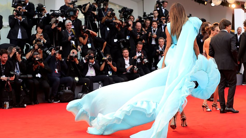 Roter Teppich beim Filmfestival in Venedig