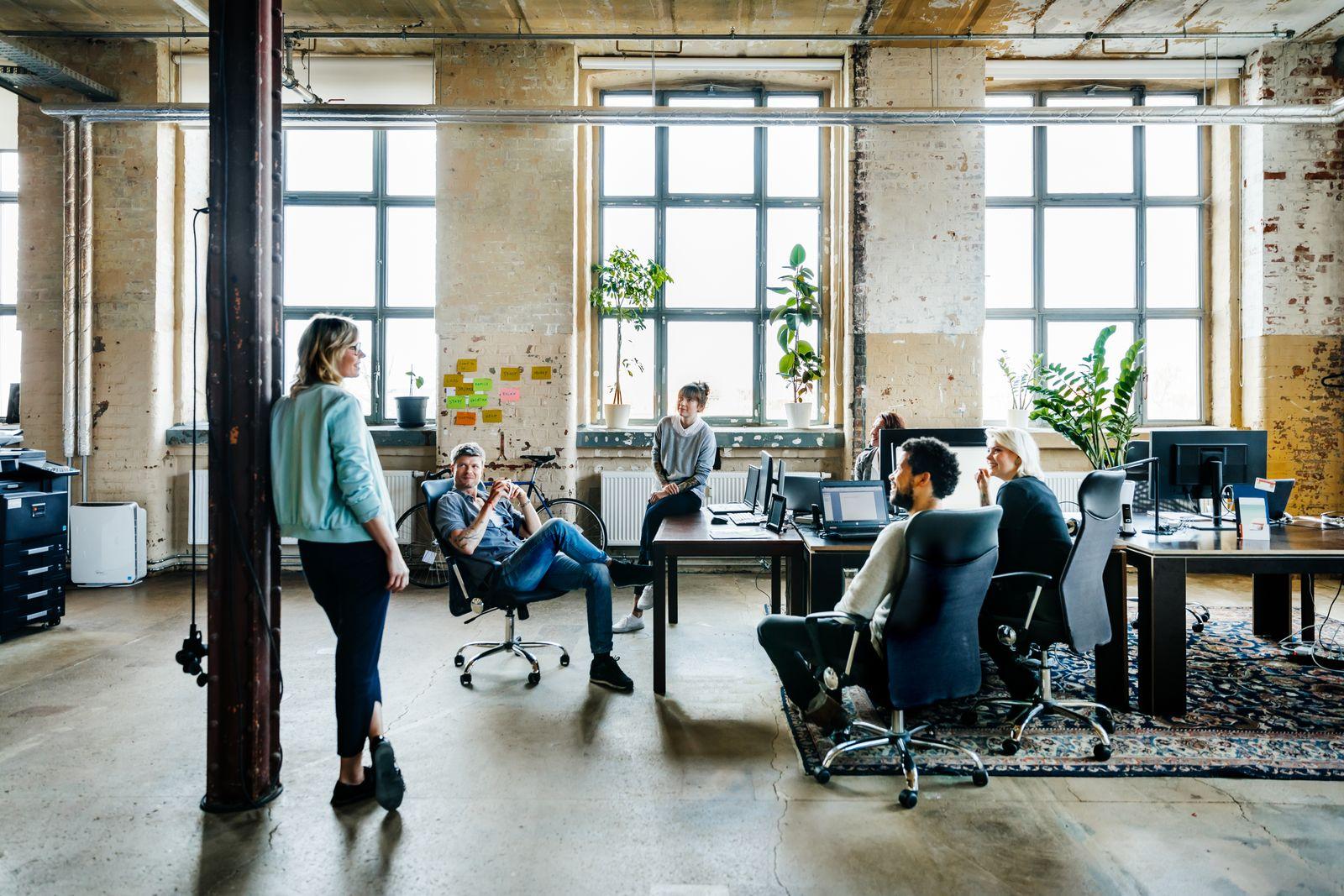 Informal Office Meeting