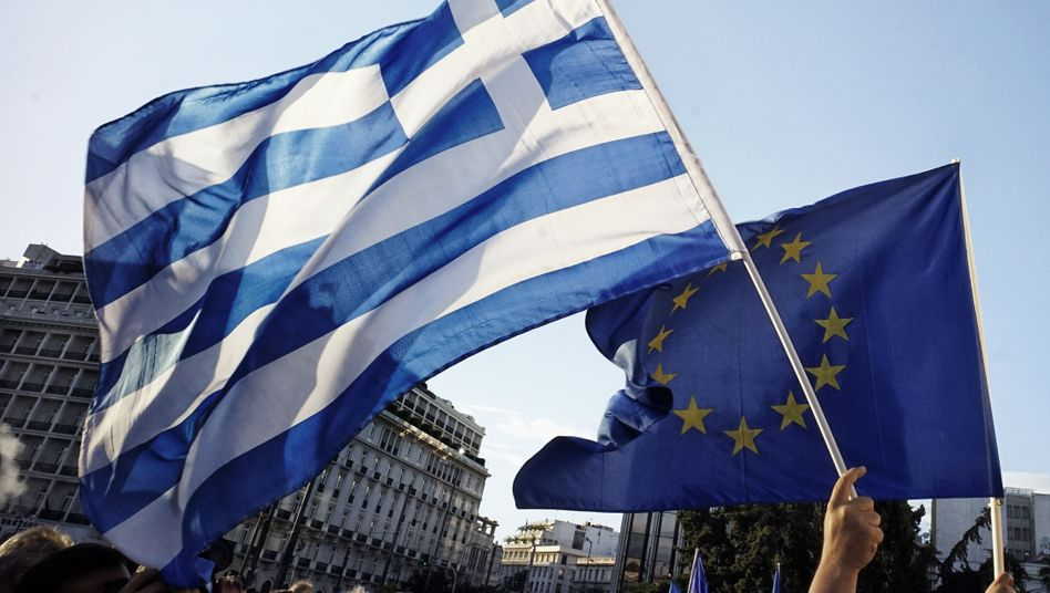 Pro-Europa-Proteste in Athen