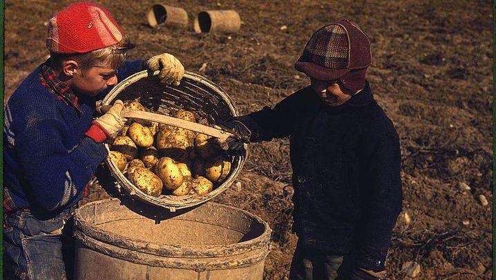Landleben in den Dreißigern: Eine Farce in Farbe