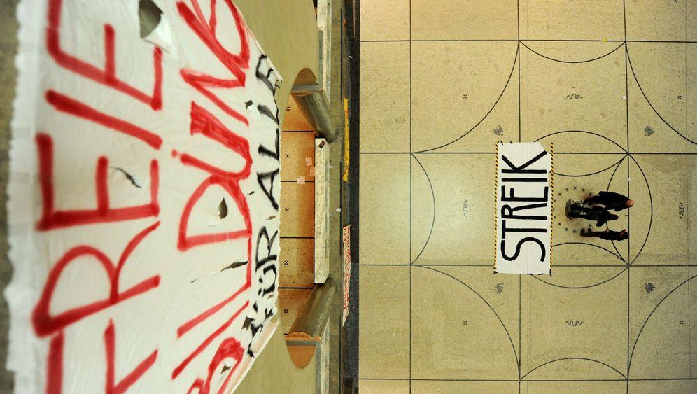 """Studentenproteste: """"Dieser Hörsaal ist besetzt"""""""