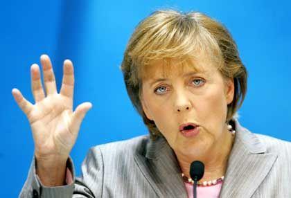 Kanzlerkandidatin Merkel: Verspricht ein Programm der Ehrlichkeit