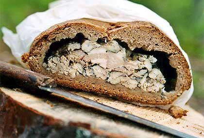 Muikkukukko: Brot mit geräuchertem Fisch für die Nicht-Angler