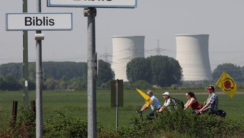 Atomanlage in Biblis: Ein Endlager in Hessen soll es nicht geben