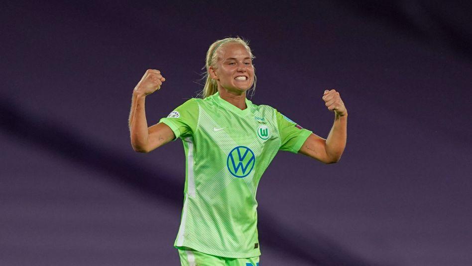 Pernille Harder wechselt Grün gegen Blau