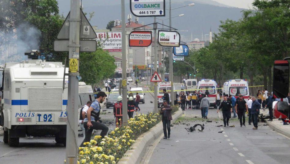 Nach der Explosion in Istanbul